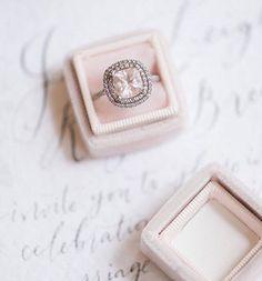 Where To Find: Velvet Ring Boxes // www.onefabday.com