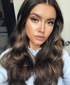 Gorgeous Makeup: Tips and Tricks With Eye Makeup and Eyeshadow – Makeup Design Ideas Beauty Make-up, Beauty Hacks, Hair Beauty, Natural Summer Makeup, Gorgeous Makeup, Pretty Makeup Looks, Balayage Hair, Pretty Hairstyles, Pretty Face