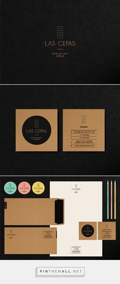 Las Cepas Hotel Branding on Behance | Fivestar Branding – Design and Branding Agency & Inspiration Gallery
