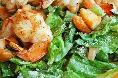 Twist on a Classic Recipe: Lemon and Garlic Grilled Shrimp Caesar Salad