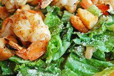 Twist on a Classic Recipe: Lemon and Garlic Grilled Shrimp Caesar Salad