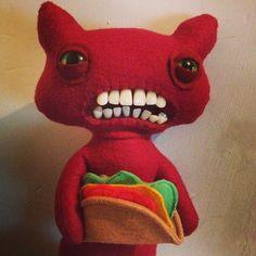 Mrs McGettrick @fugglers Instagram photo • Yooying. Taco cat