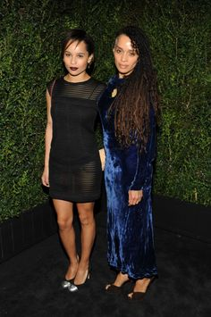 Zoe Kravitz and Lisa Bonet. Learn more about them and 25 other gorgeous celebrity mother-daughter pairs.