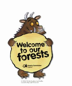 the forestry commission celebrates the gruffalo's 15th birthday