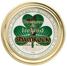 Dan Tobacco Treasures of Ireland: Shamrock 50g Tobaccos at Smoking Pipes .com