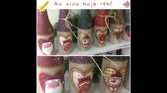 AO VIVO-Pintando com o ♥-19h-Prox.Aula. 17/outubro - #23