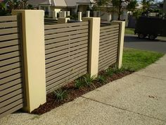 Wrought Iron Fence With Brick Columns Разное Pinterest