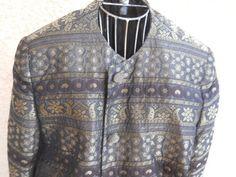 Salvatore Ferragamo Blazer XL Regular Olive Black Gold Metallic Long Sleeves http://www.ebay.com/usr/prettywoman-2012