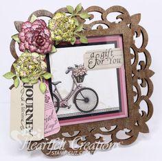 Heartfelt Creations | Floral Frame