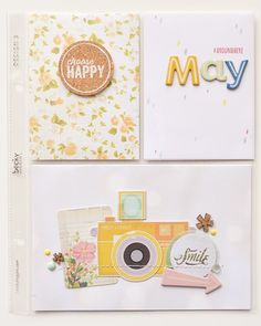 Popping in today to share a few of my May Project Life® pages. Project Life Planner, Project Life 6x8, Project Life Organization, Project Life Freebies, Project Life Scrapbook, Project Life Layouts, Project Life Cards, Scrapbook Journal, My Scrapbook