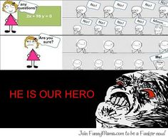 meme comic - class hero