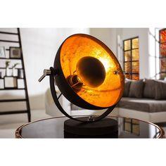 Tafellamp Studio 40cm zwart/goud - 37140