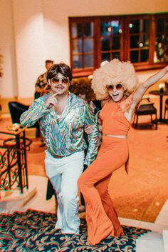 Our Wedding Welcome Party Kelly Fiance Creative 60s Party Themes, Costume Party Themes, Disco Theme Parties, 80s Party Outfits, Disco Birthday Party, 70s Party, Disco Party, Themed Outfits, 80s Theme