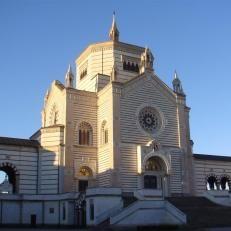 Monumental Cemitério de Milão.