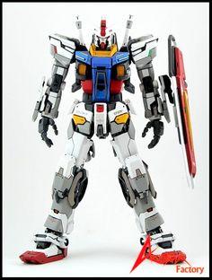 Gundam Evolve 15 resin conversion kit *Is a drastic departure from original design, but something about it rea. Gunpla Custom, Custom Gundam, Plastic Models, Plastic Art, Gundam Toys, Japanese Robot, Strike Gundam, Gundam Wallpapers, Gundam Mobile Suit