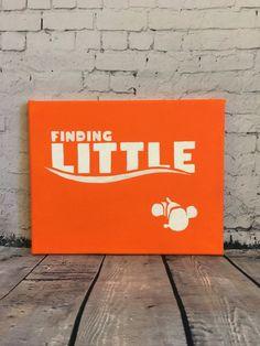 Finding Nemo sorority canvas by SamsSororityStash on Etsy