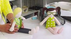From the Sizzix Quilting Workshop: Create a Doll to Fall for by Kid Gidd...
