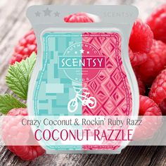 Scentsy Mixology Crazy Coconut Rockin' Ruby Razz