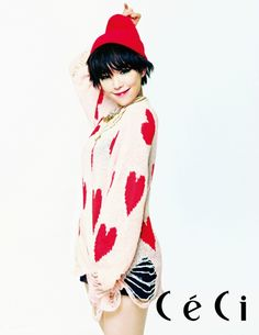 Brown Eyed Girls Ga In - Ceci Magazine December Issue '12
