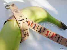 Diät zum Abnehmen mit männlicher Banane