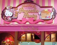 Hello Kitty's Pancake Party in Odaiba, Tokyo