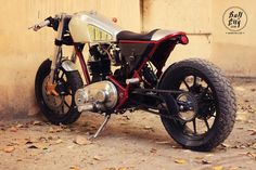 Cafe Racer Pasión — Royal Enfield Cafe Racer by Bull City Customs  |...