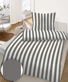 my home, Bettwäsche >>Streifen<<, aus reiner Baumwolle im OTTO Online Shop
