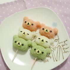 Imagen de animal, bear, and delicious Cute Food, I Love Food, Yummy Food, Kawai Japan, Food Business Ideas, Oriental, Bento Recipes, Bento Box Lunch, Kawaii Shop