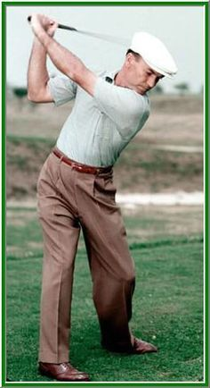 ,Ben Hogan Golf Swing, legiondary goffer with what many would classify as the perfect golf swing!!