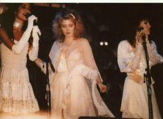 Stevie & her back ip girls