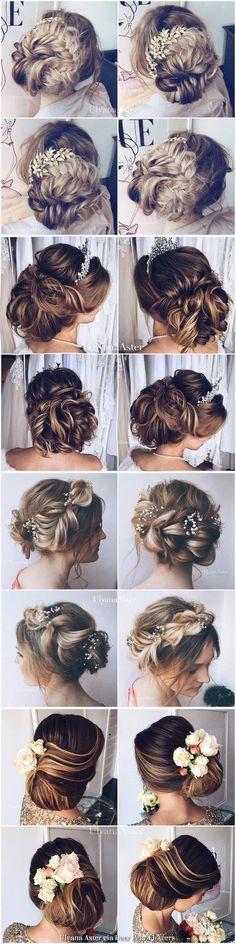 Wedding Hairstyles : Ulyana Aster Long Wedding Hairstyles Inspiration  www.ulyanaaster.com | Deer Pe
