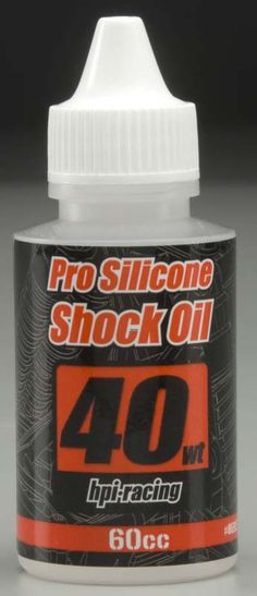 HPI Racing Pro Silicone Shock Oil 40wt