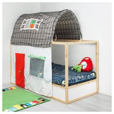 KURA σκηνή κρεβατιού με κουρτίνα - IKEA
