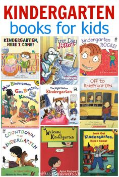 Reading kids books about starting Kindergarten not only helps develop literacy skill it can also help ease anxiety and make them feel more confident about starting school. Here are some of our favorite books about going to Kindergarten! Starting Kindergarten, Kindergarten Readiness, Starting School, Kindergarten Lesson Plans, Kindergarten Lessons, Kindergarten Classroom, Thing 1, Children's Literature, Kids Reading