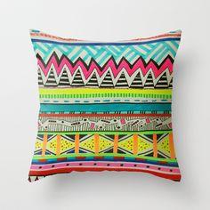 VIVID EYOTA Throw Pillow by Vasare Nar - $20.00