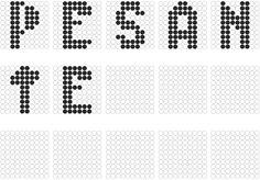 Aggettivo ' Pesante ' collegato con le parole ' Audace e Stretto ', ho reso appunto le lettere pesanti. Photoshop