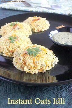 INSTANT OATS IDLI RECIPE | INDIAN OATS RECIPES-add vegan curd instead f regular to make it vegan.
