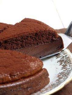 Gâteau Magique au Chocolat (super simple, résultat bluffant) @valeriemousseau