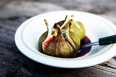 baked figs with honey