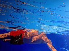 Aleksandra Matulewicz  acrilic on canvas 120 x 90 cm