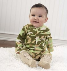 """Big Dreamzzz Baby Camo Two-Piece Layette Set in """"Backpack"""" Gift Box Perfect for Baby Gifts, Unique Baby Gifts, Baby Shower Gift Ideas, Baby Shower Gifts Camo Baby Clothes, Camo Baby Stuff, Baby Boy Outfits, Baby Aspen, Baby Sleepers, Unique Baby Gifts, Baby Gift Sets, Baby Costumes, Personalized Baby"""