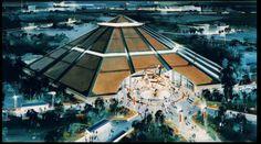 Walt Disney Imagineering, Walt Disney Co, Disney Parks, Epcot Center, Disney Artists, Park Resorts, Disney Images, Disney Concept Art, Parking Design