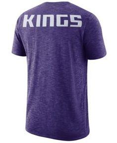 Nike Men's Sacramento Kings Facility T-Shirt - Purple XXL
