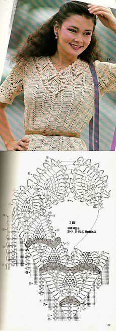 Delicate blouse, crochet knit sweaters    Laboratory household
