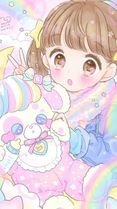 Image uploaded by 𝐆𝐄𝐘𝐀 𝐒𝐇𝐕𝐄𝐂𝐎𝐕𝐀 👣. Find images and videos about fashion, cute and beautiful on We Heart It - the app to get lost in what you love. Kawaii Anime Girl, Loli Kawaii, Kawaii Chibi, Anime Girl Cute, Cute Anime Wallpaper, Cute Cartoon Wallpapers, Animes Wallpapers, Kawaii 365, Arte Do Kawaii