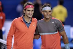 Roger Federer and Rafael Nadal are both outside the world top four for first time in 13 years