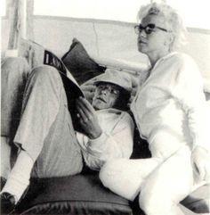 Frank Sinatra en Marilyn Monroe