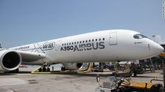 Airbus says its new A350XWB passenger plane will burn 25% less fuel than existing similar size jets.