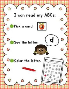 This apple themed pack is filled with alphabet activities. Centers, an alphabet booklet, worksheets and more! Abc Preschool, Kindergarten Phonics, Preschool Classroom, Art Classroom, Classroom Ideas, Literacy, Special Education Teacher, Early Education, Early Childhood Education