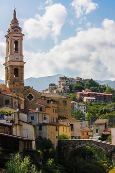 Dolcedo is a commune in the Province of Imperia, Liguria, 100 km SW of Genoa.
